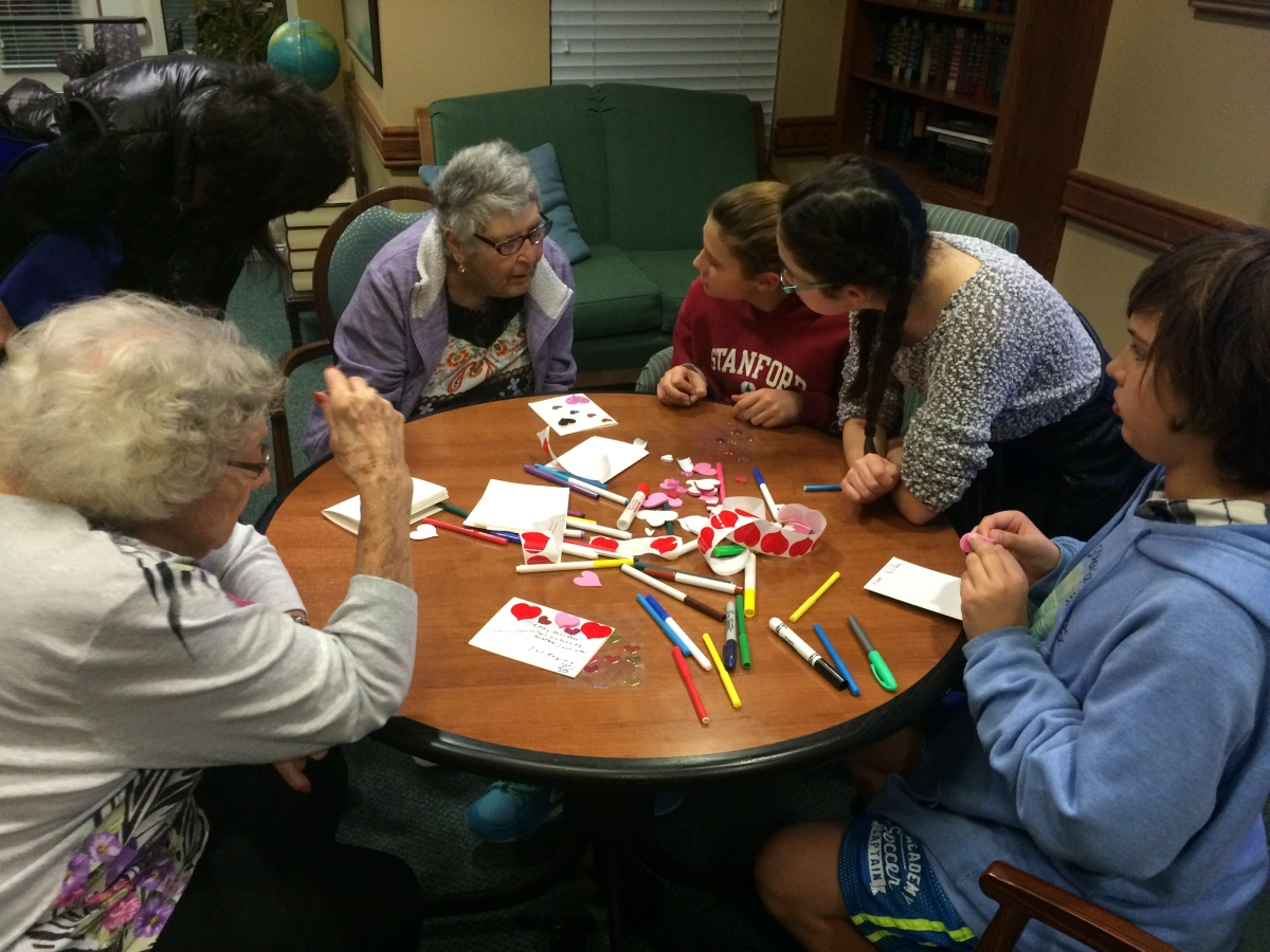 2016 Adopt a Grandparent Night