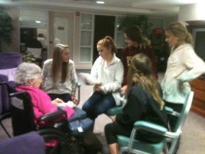 14 Adopt-a-Grandparent Night